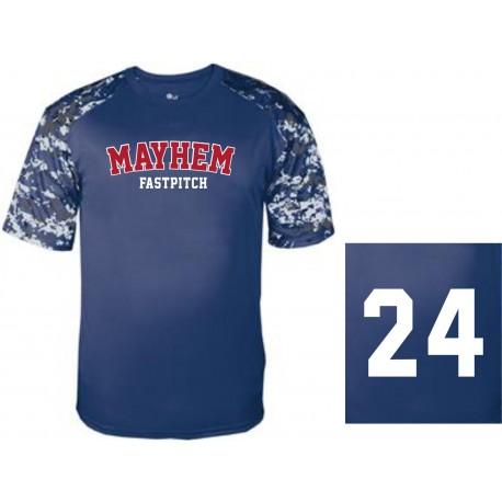 Mayhem 14U Digi Sleeve Jerseys