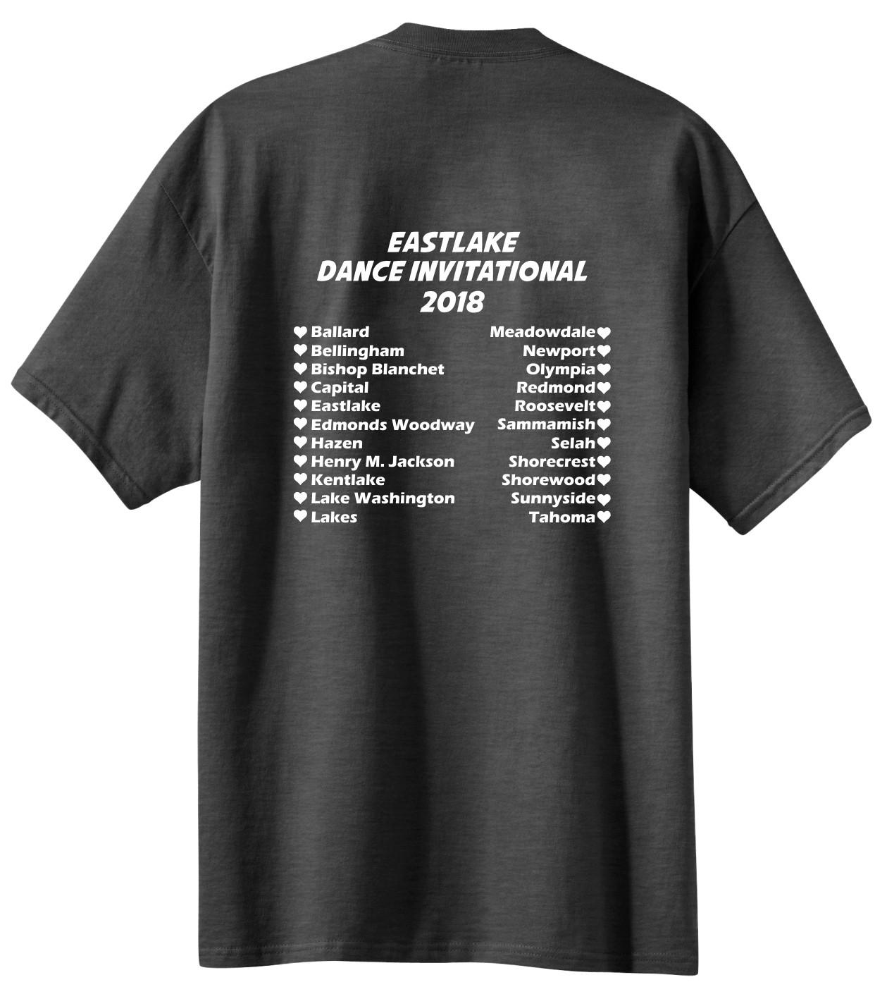 Team Names On Back Of Shirt Northwest Printed Arel