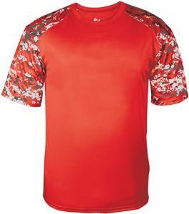 Red Digi Sleeve Jersey